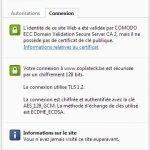 Coplateck ravalement est sécurisé par un SSL 128 Comodo