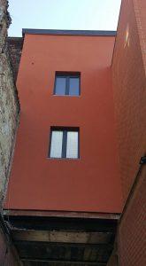 façade en crépi